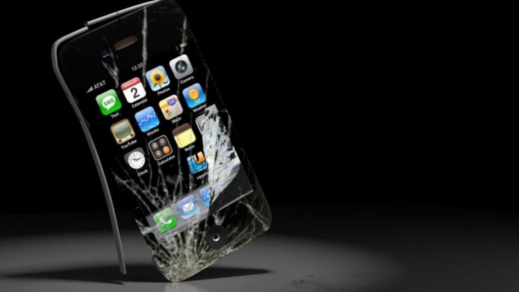 Smartphone-ul stricat – o dilema existentiala