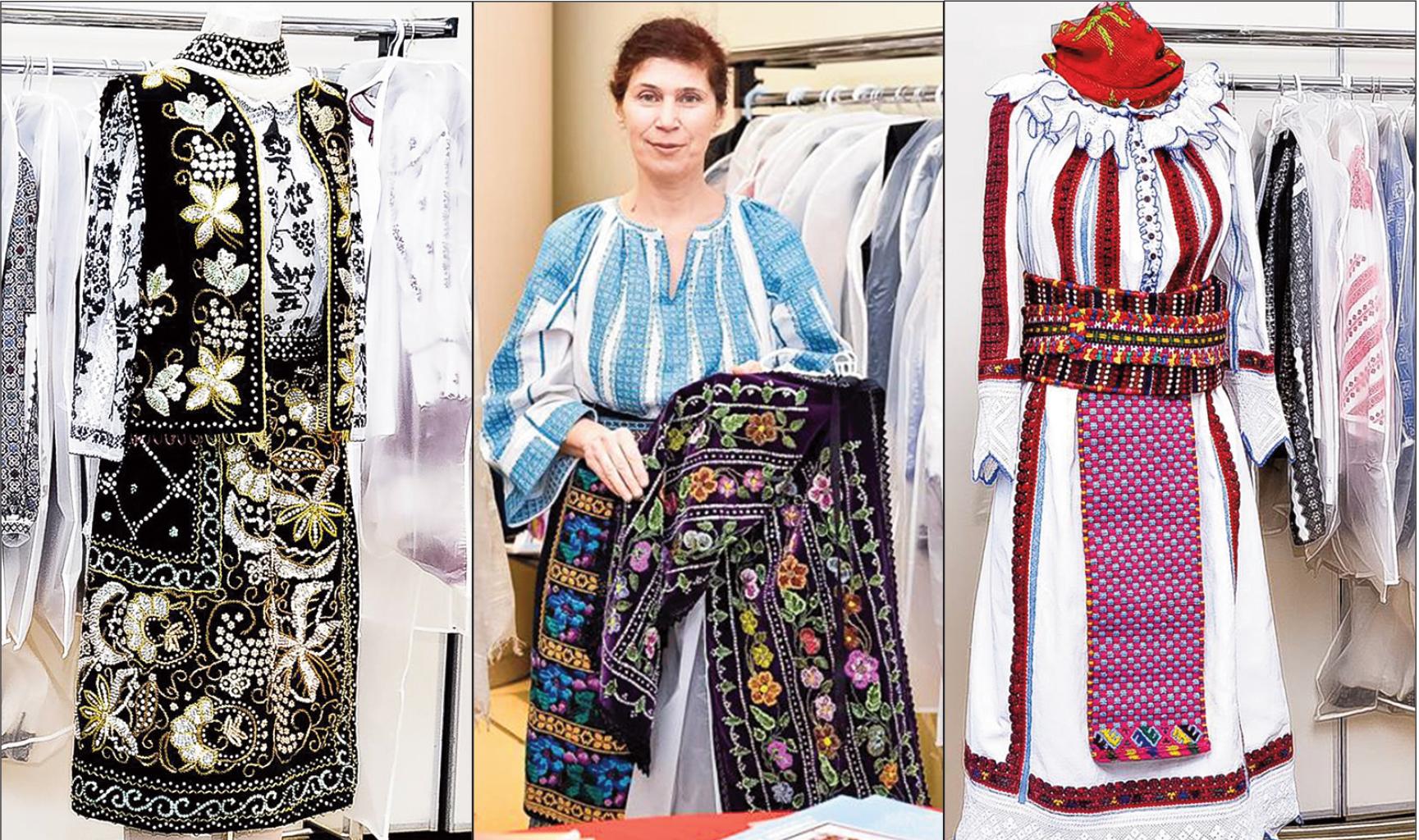 Costume populare romanesti din diferite regiuni