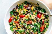 Salată mexicană de quinoa cu CBD